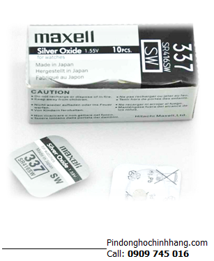 Pin Maxell SR416SW _Pin 337
