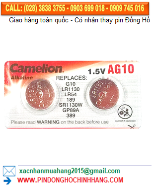 Pin AG10 LR1130 _Pin Camelion AG10