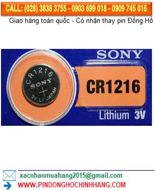 Pin Sony CR1216 _Pin CR1216