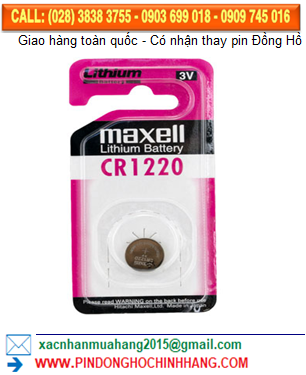 Pin Maxell CR1220 _Pin CR1220