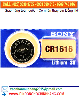 Pin Sony CR1616 _Pin CR1616