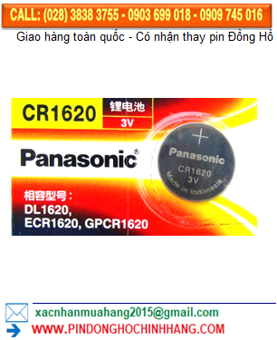 Pin Panasonic CR1620 _Pin CR1620