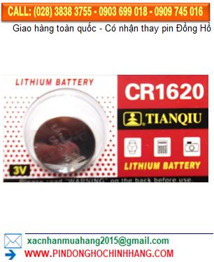 Pin CR1620 _Pin Tianqiu CR1620