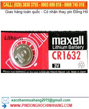 Pin Maxell CR1632 _Pin CR1632