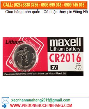 Pin CR2016 _Pin Maxell CR2016