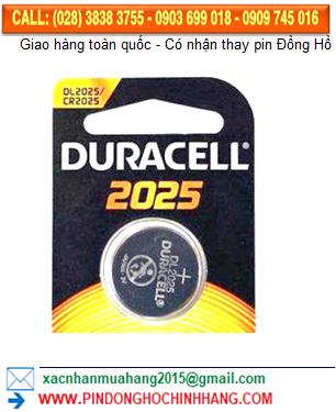 Pin Duracell DLCR2025 _CR2025