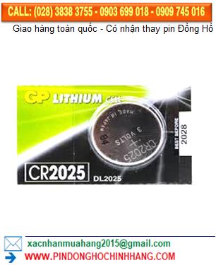 Pin GP CR2025 _Pin DLCR2025