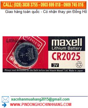 Pin Maxell CR2025 _Pin CR2025