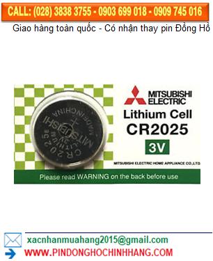 Pin Mitsubishi CR2025 _Pin CR2025