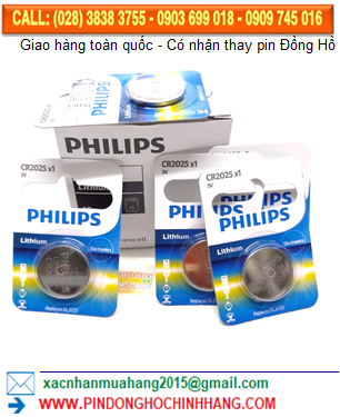Pin Philips DLCR2025 _Pin CR2025