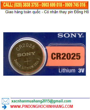 Pin Sony CR2025 _Pin CR2025