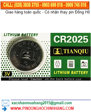 Pin Tianqiu CR2025 _Pin CR2025