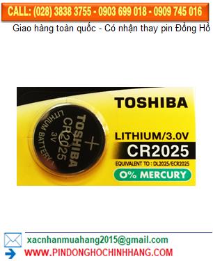 Pin CR2025 _Pin Toshiba CR2025