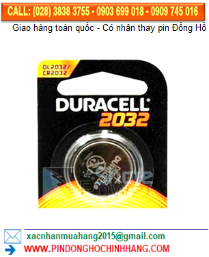 Pin Duracell DLCR2032 _CR2032