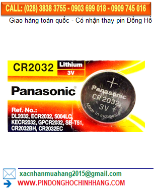 Pin Panasonic CR2032 _Pin CR2032
