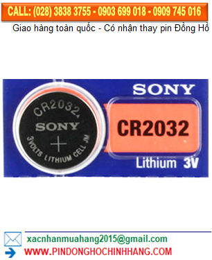 Pin Sony CR2032 _Pin CR2032