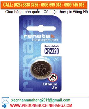 Pin Renata CR2320 _Pin CR2320