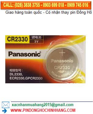 Pin Panasonic CR2330 _Pin CR2330
