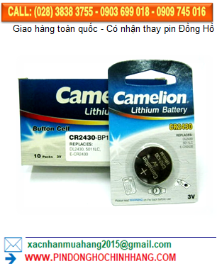 Pin Camelion CR2430 _Pin CR2430