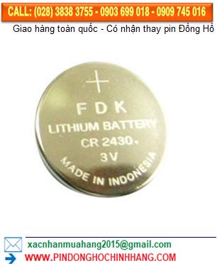 Pin FDK CR2430 _Pin CR2430