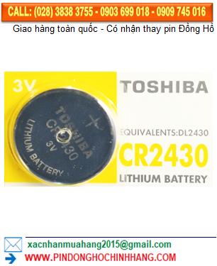 Pin Toshiba CR2430 _Pin CR2430
