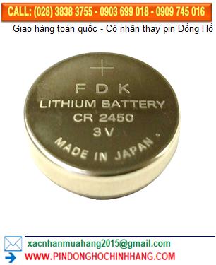 Pin FDK CR2450 _Pin CR2450