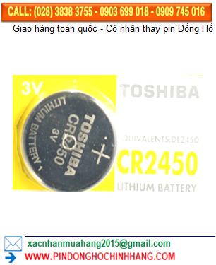 Pin Toshiba CR2450 _Pin CR2450