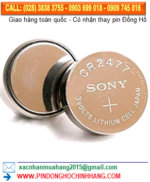 Pin Sony CR2477 _Pin CR2477