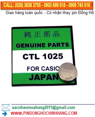Pin CTL1025 _Pin sạc 3v CTL1025