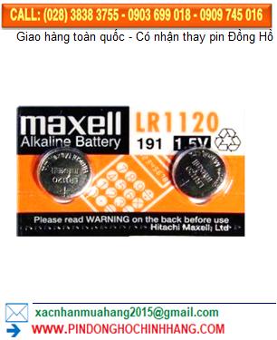 Pin Maxell LR1120 _Pin AG8 LR55