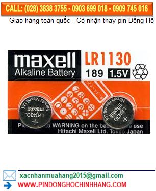 Pin Maxell LR1130 _Pin AG10