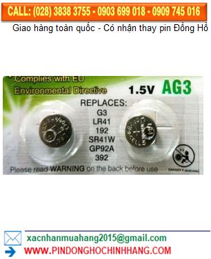 Pin Camelion AG3 _Pin LR41
