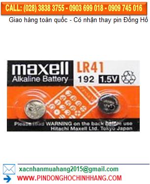 Pin Maxell LR41 _Pin AG3