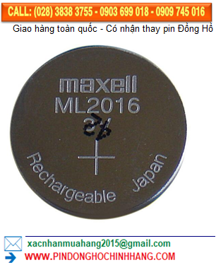 Pin ML2016 _Pin sạc Maxell ML2016
