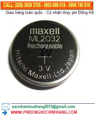 Pin ML2032: Pin sạc 3v Maxell ML2032
