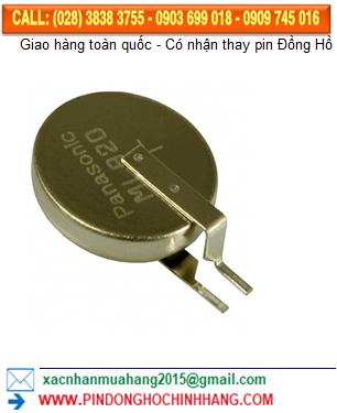 Pin sạc SOLAR Panasonic ML920 lithium 3v