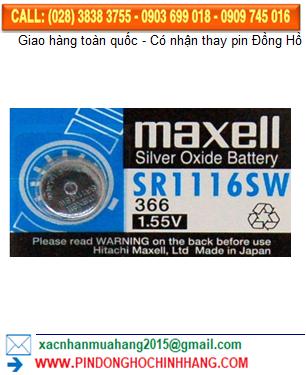 Pin Maxell SR116W _Pin 366