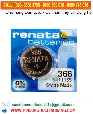 Pin Renata 366 _Pin SR1116SW