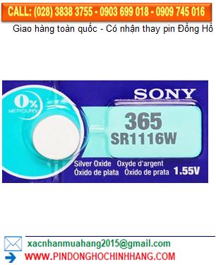 Pin Sony SR116W _Pin 366