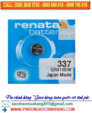 Pin Renata 337 _Pin SR416SW