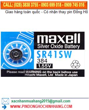 Pin Maxell SR41SW _Pin 384
