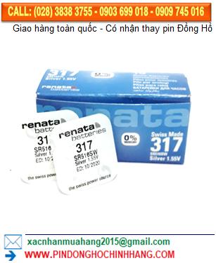Pin Renata 317 _Pin SR516SW