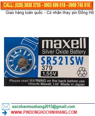Pin Maxell SR521SW _Pin 379