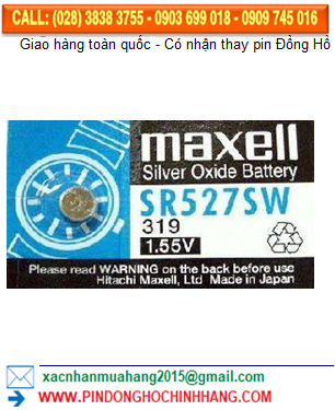 Pin Maxell SR527SW _Pin 319