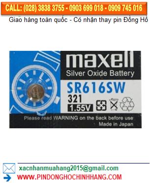 Pin Maxel SR616SW _Pin 321