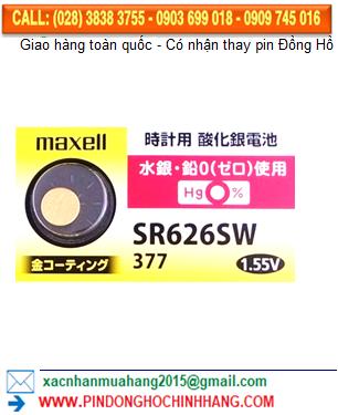 Pin Maxell Gold SR626SW (xi mạ vàng)
