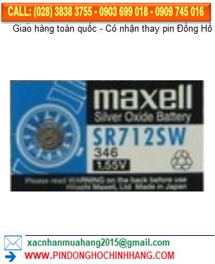 Pin Maxell SR712SW _Pin 346