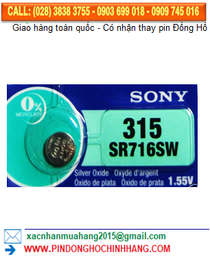 Pin Sony SR716SW _Pin 315
