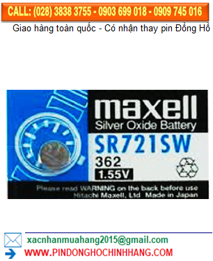 Pin Maxell SR721SW _Pin 362