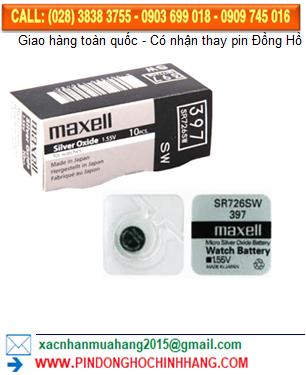 Pin Maxell SR726SW _Pin 397